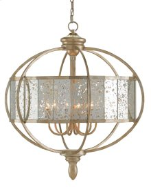 Florence Silver Chandelier