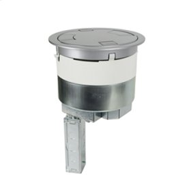 Evolution 8AT2P Series Recessed Prewired Assembly with Flush Style Cover