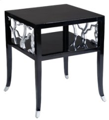 Obsidian Twig End Table