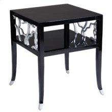 Obsidian Twig End Table