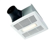InVent Series Single-Speed Fan With LED Light 80 CFM 0.8 Sones ENERGY STAR® certified product