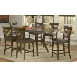 Hillsdale FurnitureArbor Hill 7pc Counter Height Dining Set