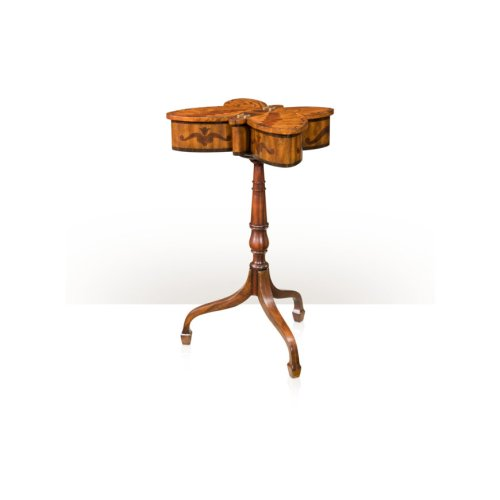 The Butterfly Accent Table - Medium Sheen