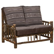 Loveseat - Natural Hickory