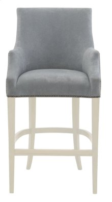 Keeley Bar Stool in Chalk