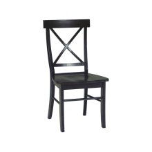 X-Back Chair in Rich Mocha