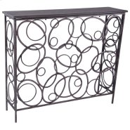 Kortia Console Table in Antique Bronze Product Image