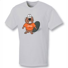 Add some fun to your wardrobe with BUZZ THE BEAVER.