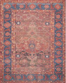 Mh Rust / Blue Rug