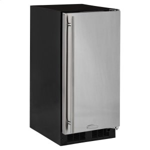Marvel15-In Built-In All Refrigerator with Door Style - Stainless Steel, Door Swing - Right