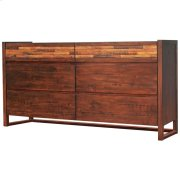 Callisto Dresser with 6 Drawers, Java Product Image