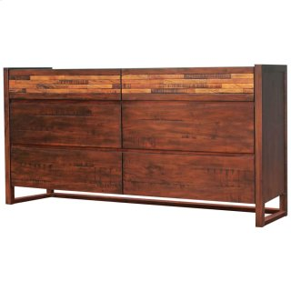 Callisto Dresser with 6 Drawers, Java