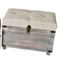 "24X15X17"" WOODEN TRUNK. 1 PC PK/ 4.03'"