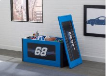Turbo Store and Organize Toy Box, Blue - Blue (485)