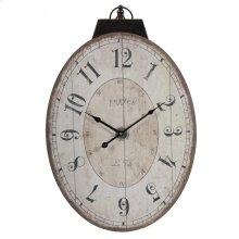 Thaddeus Oval Wall Clock