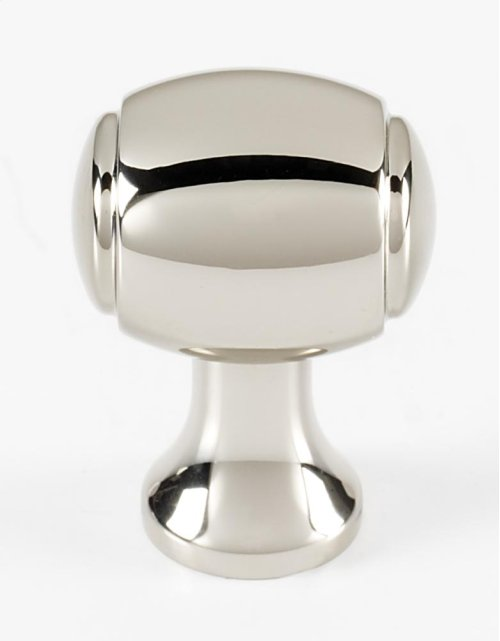 Royale Knob A981-34 - Polished Nickel