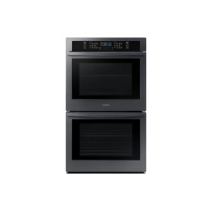 "Samsung Appliances30"" Double Wall Oven with Wi-Fi in Black Stainless Steel"