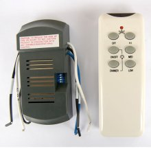 Ceiling Fan Remote, Four Functions #154286