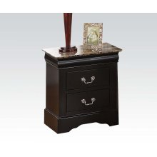 Nightstand w/Faux Marble Top
