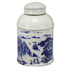 Lidded Jar,Large
