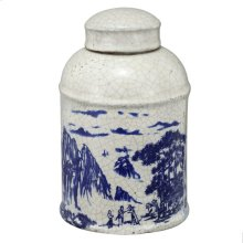 Lidded Jar,Large