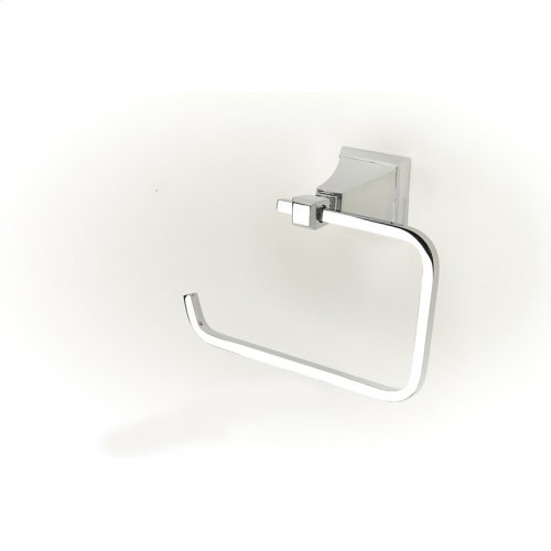 Paper Holder / Towel Ring Leyden (series 14) Polished Chrome