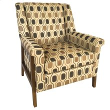 Belvedere Upholstered Pattern Arm Chair