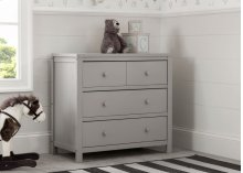 Cambridge Mix and Match 3 Drawer Dresser - Rustic Haze (940)