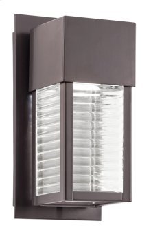 Sorel 1 Light LED Wall Light Architectural Bronze
