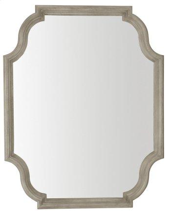 Marquesa Mirror in Marquesa Gray Cashmere (359) Product Image