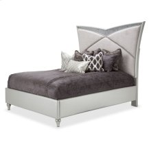 Queen Upholstered Bed (3 Pc)