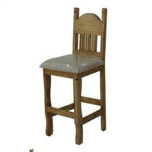"24"" Barstool W/Cushion Seat"