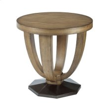 Evoke Round End Table