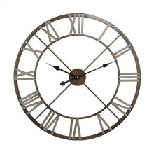 Open Centre Iron Wall Clock.