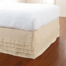 Waterfall Bed Panel, IVORY, TW