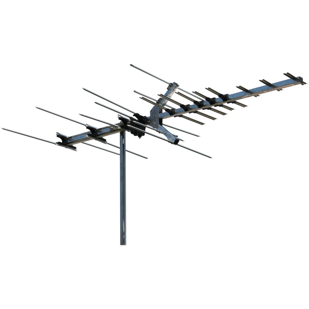 Platinum Series HDTV High-Band VHF/UHF Deep Fringe Antenna (45-mile Range)