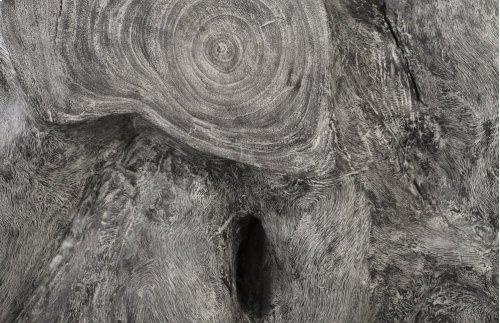Chamcha Wood Console, Grey Stone