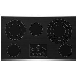 Gold(R) 36-inch Electric Ceramic Glass Cooktop with Tap Touch Controls - STAINLESS STEEL
