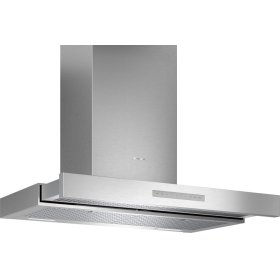 36-Inch Masterpiece® Drawer Chimney Wall Hood with 600 CFM