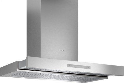 36-Inch Masterpiece® Drawer Chimney Wall Hood with 600 CFM HDDB36WS