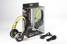 Monster® iSport Freedom Bluetooth On-Ear Wireless Headphones - Black/Green