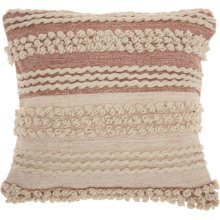 "Life Styles Dc425 Blush 20"" X 20"" Throw Pillows"