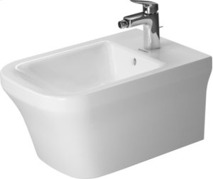 White P3 Comforts Bidet Wall-mounted Product Image