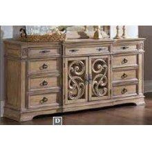 Ilana Traditional Nine-drawer Dresser