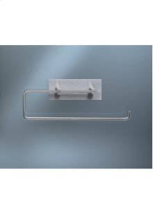 Double toilet roll holder or kitchen roll holder - Grey