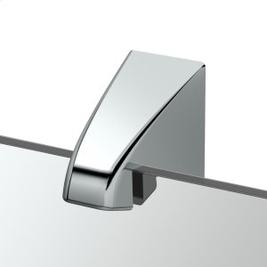 Quantra Fixed Mount Mirror in Chrome Product Image