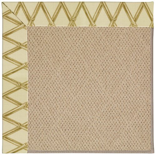 Creative Concepts-Cane Wicker Bamboo Rattan Machine Tufted Rugs
