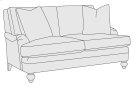 Hutton Loveseat in Mocha (751) Product Image