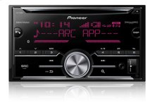 2-Din CD Receiver with enhanced Audio Functions, Full-featured Pioneer ARC App Compatibility, MIXTRAX®, Built-in Bluetooth®, and SirusXM-Ready™