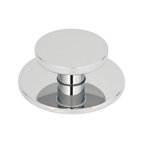 Dot Knob 2 Inch - Polished Chrome